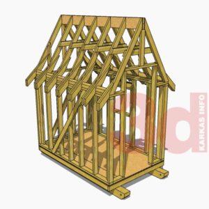 3d модель детского игрового домика